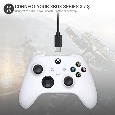 Olixar Xbox Series X / Series S USB-C Charging Cable with USB 3.0 - 1m