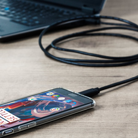 Olixar PS5 USB-C Charging Cable with USB 3.0 - Black 2m