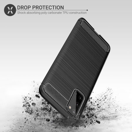 Olixar Sentinel Samsung Galaxy S20 FE Case And Glass Screen Protector