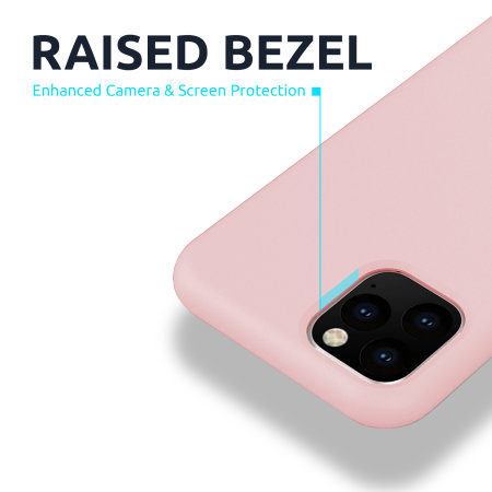 Olixar Oneplus 8T Soft Silicone Case - Pastel Pink