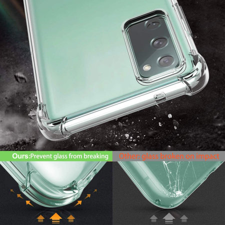 Samsung Galaxy S20 FE Anti-Shock Gel Case - Clear