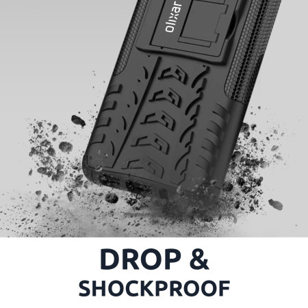 Olixar ArmourDillo Oneplus 8T Protective Case - Black