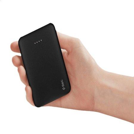 ttec PowerCard Universal Power Bank for Smartphones - 5000 mAh - Black