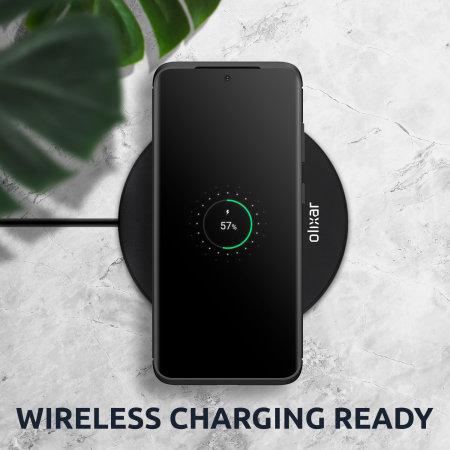 Olixar Carbon Fibre Motorola Moto G 5G Plus Case - Black