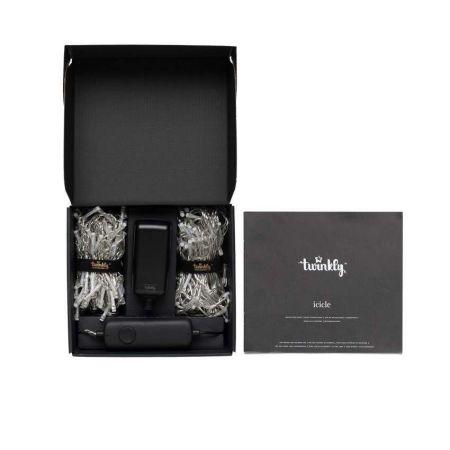Twinkly Icicle Smart 190 LED lights RGB Edition Gen II - W/ EU Adapter