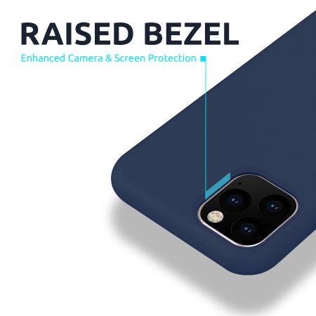 Olixar iPhone 12 mini MagSafe Compatible Silicone Case - Deep Blue