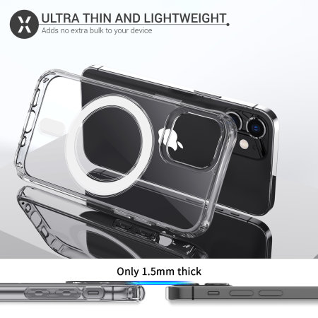 Olixar iPhone 12 mini MagSafe Compatible Case - 100% Clear