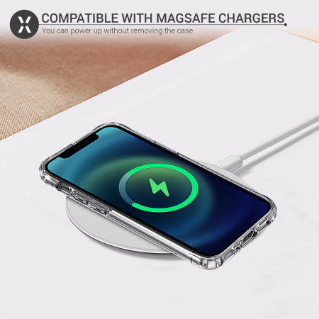 Olixar iPhone 12 Pro MagSafe Compatible Case - 100% Clear