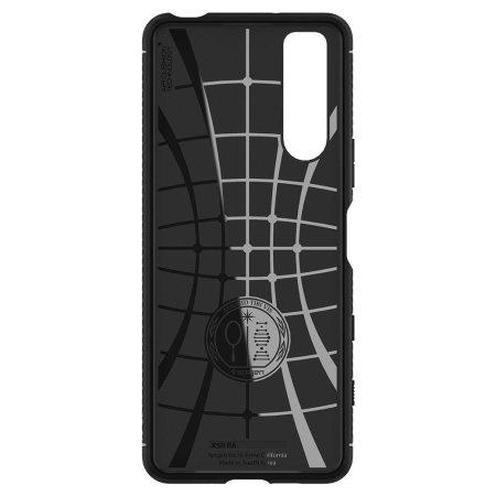 Spigen Rugged Armor Sony Xperia 5 II Tough Case - Black