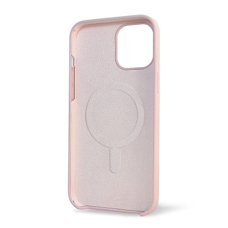 Olixar iPhone 12 Pro Max MagSafe Compatible Silicone Case - Pink