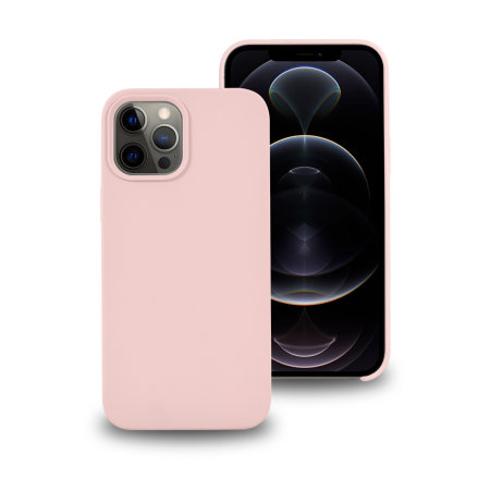 Olixar iPhone 12 Pro MagSafe Compatible Silicone Case - Pink