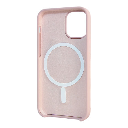 Olixar iPhone 12 MagSafe Compatible Silicone Case - Pink