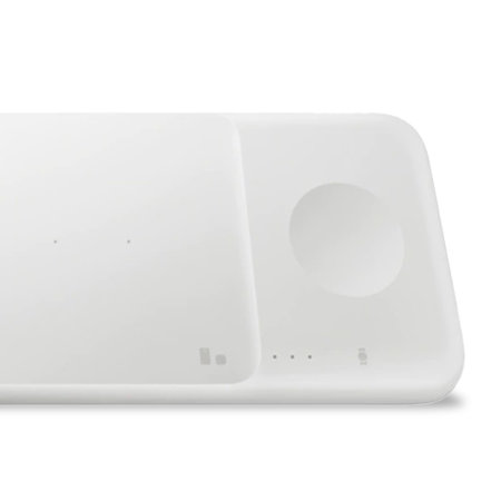 Official Samsung Galaxy S20 Ultra Wireless Trio Charger - White