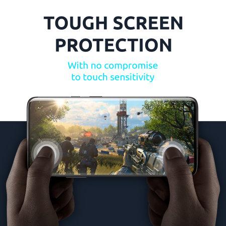 Olixar Samsung Galaxy A12 Tempered Glass Screen Protector