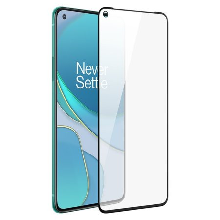 Official OnePlus 8T 3D Tempered Glass Screen Protector - Black