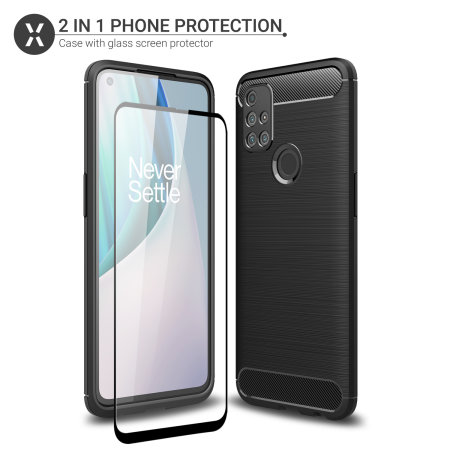 Olixar Sentinel OnePlus N10 5G Case And Glass Screen Protector