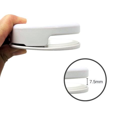 Olixar Smartphone Clip-On Selfie Ring LED Light - White