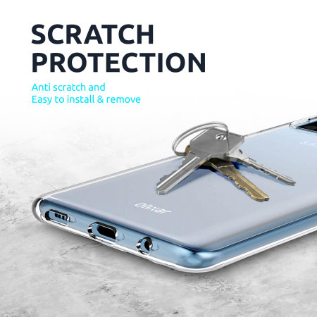 Olixar Ultra-Thin Samsung Galaxy A12 Case - 100% Clear