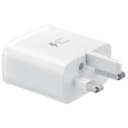 Official Samsung Galaxy Note 20 Fast Charger & USB-C Cable - White