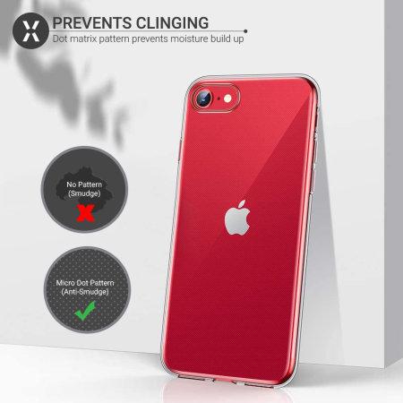 iPhone SE 2020 Anti-Shock Gel Case - Clear