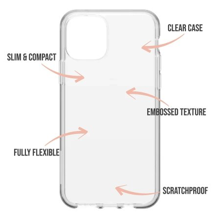 LoveCases iPhone 12 Gingerbread Christmas Case - Clear