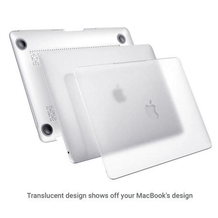 Olixar Macbook Air 13 inch 2020 Tough Case - Clear