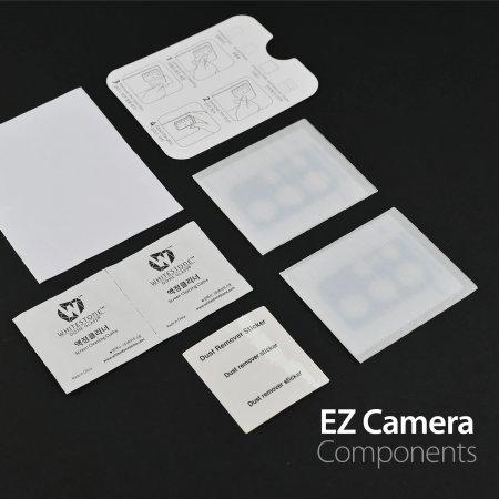 Whitestone Dome EZ Samsung Galaxy S21 Camera Protector - 2 Pack