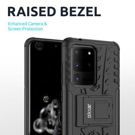 Olixar ArmourDillo Samsung Galaxy A12 Protective Case - Black