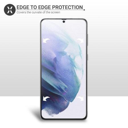 Olixar Samsung Galaxy S21 Film Screen Protector - 2 Pack