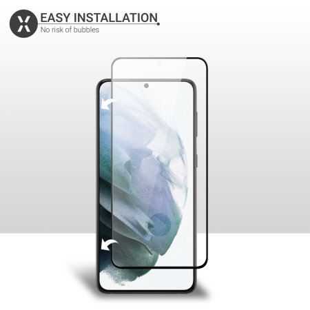 Olixar Samsung Galaxy S21 Plus Tempered Glass Screen Protector