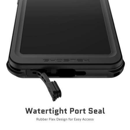 Ghostek Nautical 3 Samsung Galaxy S21 Waterproof Tough Case - Black