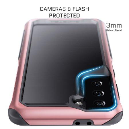 Ghostek Atomic Slim 3 Samsung Galaxy S21 Plus Case - Pink Aluminium
