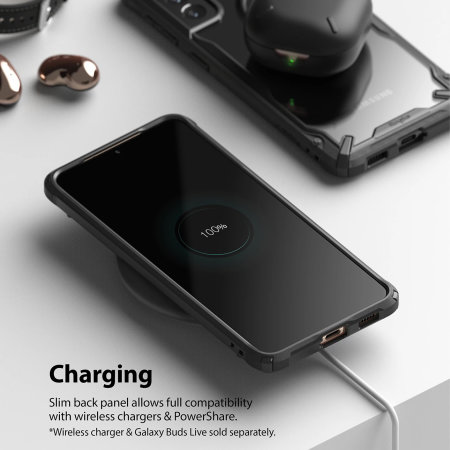 Ringke Samsung Galaxy S21 Fusion X Bumper Case - Camo