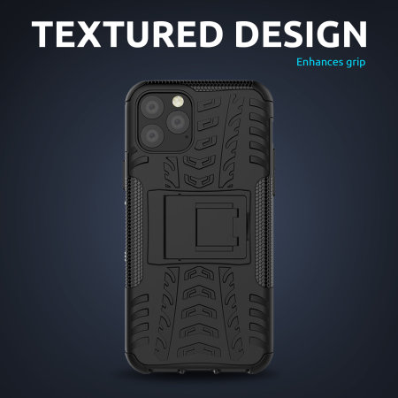 Olixar ArmourDillo Samsung Galaxy A52 Protective Case - Black