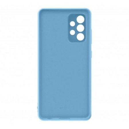 Official Samsung Galaxy A72 Silicone Cover Case - Blue