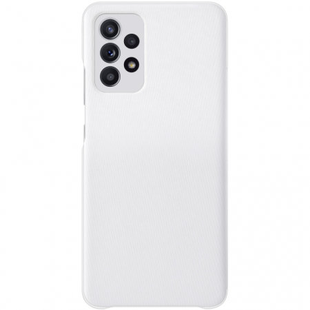 Official Samsung Galaxy A72 Smart S View Wallet Case - White