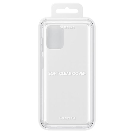 Official Samsung Galaxy A12 Slim Case - Clear