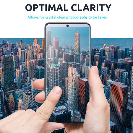 Olixar Samsung Galaxy S21 Ultra Camera Protectors - Two Pack