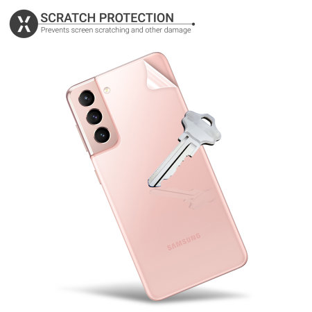 Olixar Samsung Galaxy S21 Plus Front And Back Film Screen Protectors
