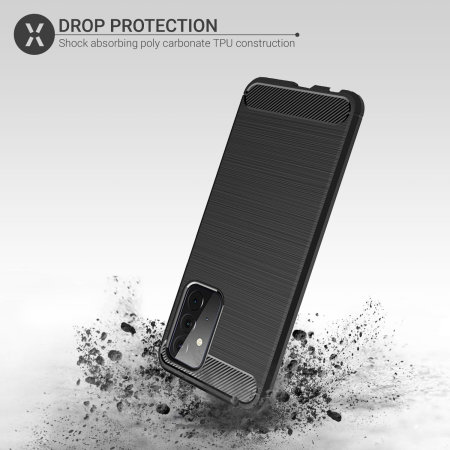 Olixar Sentinel Samsung Galaxy A72 Case & Glass Screen Protector