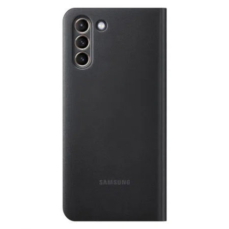 Official Samsung Galaxy S21 Plus LED View Cover Case - Black