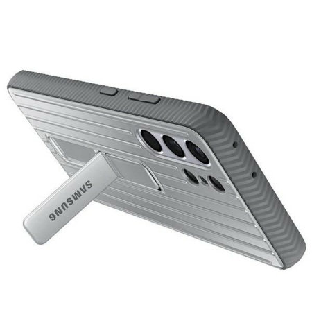 Official Samsung Galaxy S21 Ultra Protective Standing Case - Grey