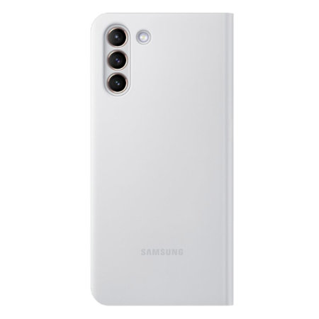 Official Samsung Galaxy S21 Plus LED View Cover Case - Grey