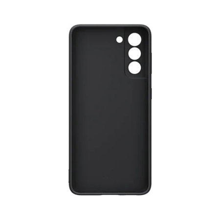 Official Samsung Galaxy S21 Silicone Cover Case - Black