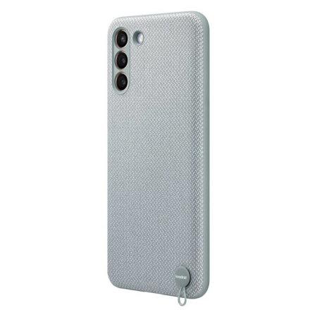 Official Samsung Galaxy S21 Plus Kvadrat Cover Case - Mint Grey