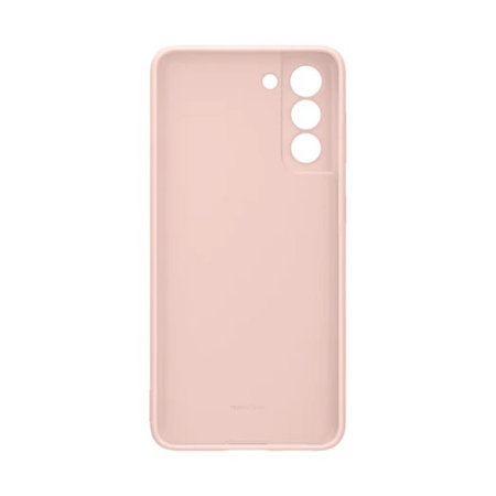 Official Samsung Galaxy S21 Silicone Cover Case - Pink