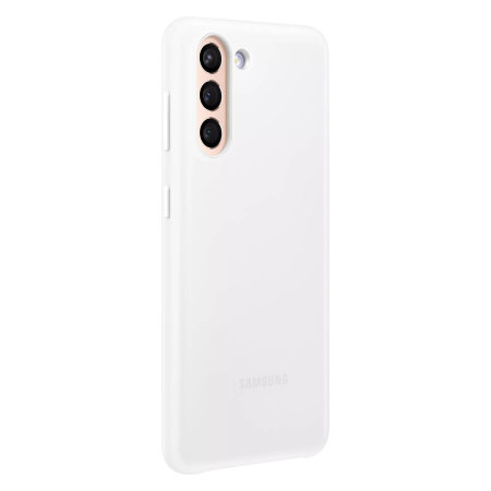 Official Samsung Galaxy S21 Plus LED Cover Case - White