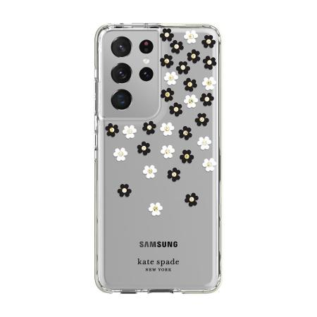 Kate Spade New York Samsung Galaxy S21 Ultra Case - Scattered Flowers