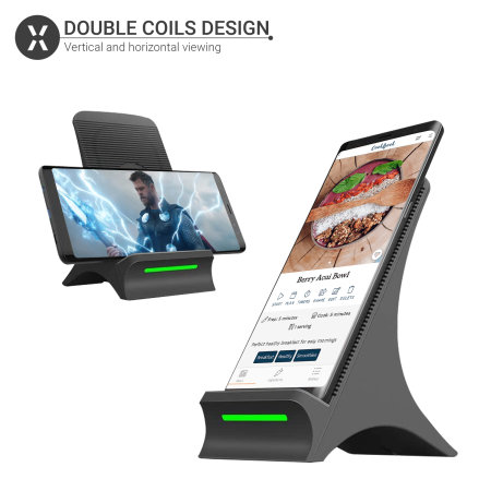 Olixar Samsung S21 Ultra 10W Wireless Charging Stand With Cooling Fan