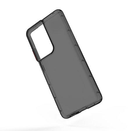 Zizo Surge Series Samsung Galaxy S21 Ultra Slim Case - Smoke